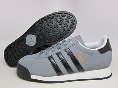 Amazon.com: adidas SAMOA J Kids Tech Grey/Black/Zest G59655 (SIZE: 5Y