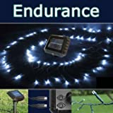 Powerbee Endurance � Solar Fairy Lights 120 superbright Led's DUAL String for easy string location designed to work in UK winter time!by PowerBee