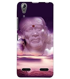 ColourCraft Lord Sai Baba Design Back Case Cover for LENOVO A6000