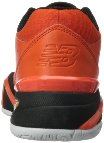 888098148954 - New Balance Men's MC1296 Stability Tennis Tennis Shoe,Orange/Black,11 2E US carousel main 1