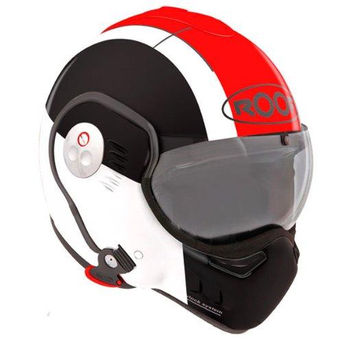 Roof Boxer V8 Star helmet black/red XL