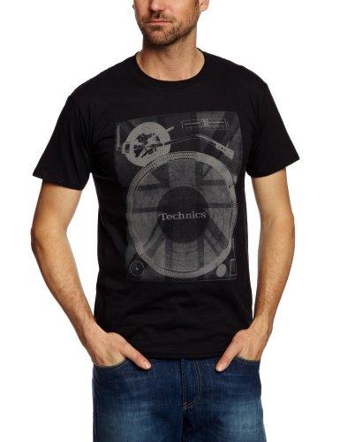 DMC Technics Union Deck Men's T-Shirt Black/Grey XX Large