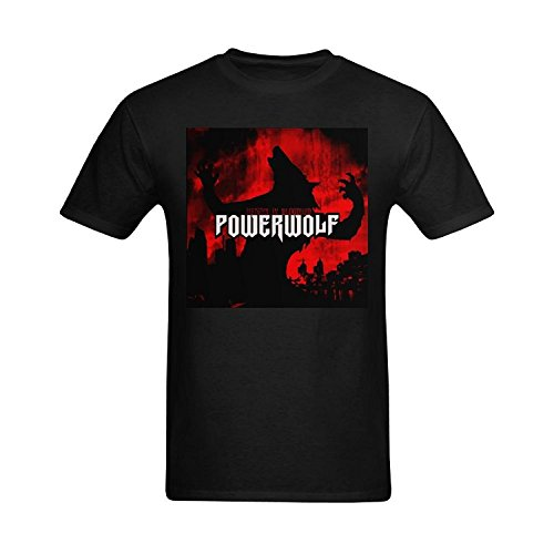 Men's Powerwolf Album Design T Shirt