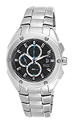 Citizen Eco-Drive Analog Black Dial Mens Watch - CA0210-51E