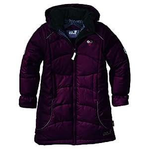 Jack Wolfskin Kinder Jacke Girls Iceguard Coat, dark berry, 176, 1000189707