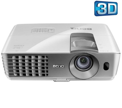 BENQ W1070 3D projector + Projection screen 1:1 - 72