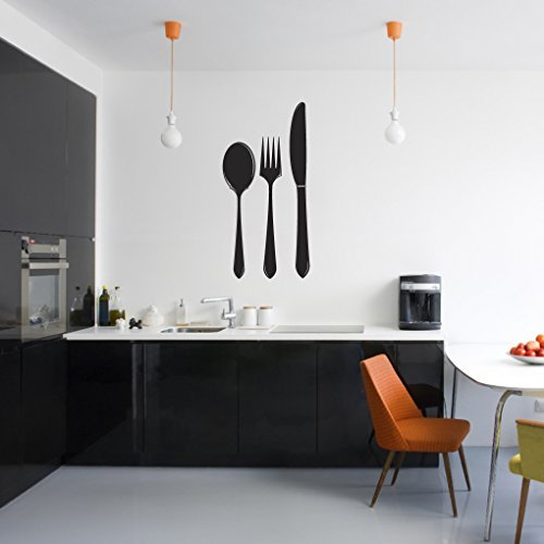 Coltello, forchetta e cucchiaio, decalcomanie da parete