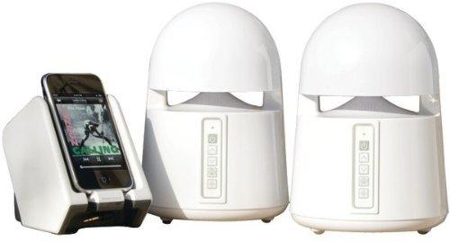 Grace Digital Audio - Indoor/Outdoor Wireless Speakers With Transmitter *** Product Description: Grace Digital Audio - Indoor/Outdoor Wireless Speakers With Transmitter 900Mhz Analog Wireless Transmitter & Speakers 150Ft Range Speakers & Transmit ***