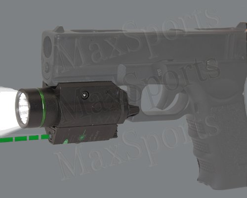Tactical Strobe Green Laser W Flashlight Light Sight For Sig Mosquito 22lr Ruger Sr9 P95 Xdm Xd 9 40 45 Pistol from TR
