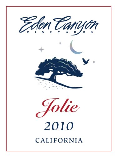 2010 Eden Canyon Vineyards Jolie Bordeaux Style Red Wine 750 Ml