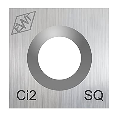 Authentic Easy Wood Tools Ci2-SQ Square Carbide Replacement Cutter for Easy Start, Mini and Mid Midi Roughers Lathe Woodturning Tools Ci2-SQ from EASY WOOD TOOLS