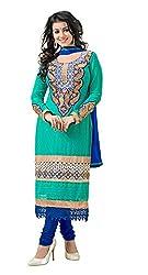 Blissta Rama georgette karachi work salwar suit dress material