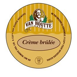 Van Houtte Creme Brulee Coffee, Light , K-Cup Portion Pack for Keurig K-Cup Brewers 24-Count (Pack of 2)