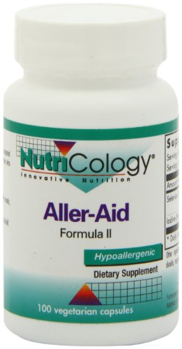 Nutricology Aller-Aid Ii,Vegicaps, 100-Count