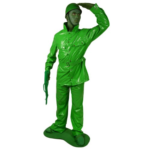 "Saving Private Morph Costume-size Xl - Adult Height From 5'10"" - 6'3"""
