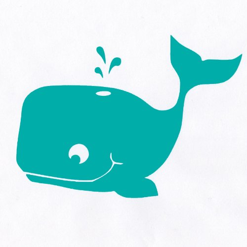 Whale Decal Wall Stickers For Kids Rooms: Removable Wall Decals For Girls And Boys. Liven Up A Bathroom With These Cute Aquatic Wall Decals. Stickers For Cars Or Nursery Decor. Easily Change The Room Design, Theme, Or Decor With These Removable Decals Wit