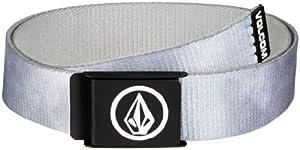 Volcom Herren Gürtel Borderline Web Belt, Grey, One size, D5911451GRY