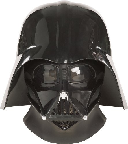 Darth Vader Supreme Edition Helmet Mask Star Wars Rubies Breathing Device RU4199
