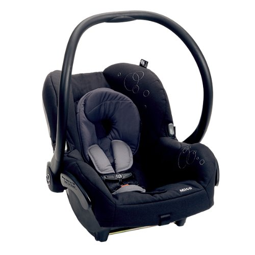Maxi-Cosi Mico Infant Car Seat, Total Black