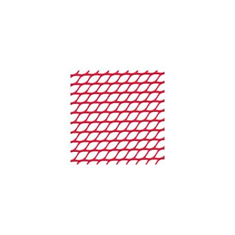 San Jamar PL0401 Poly-Liner Glossy Finish Soft Shelf Liner, 40' Length x 2' Width, Red