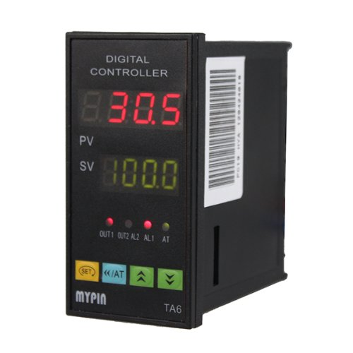 Image® Pid Temperature Controller Ta6-Snr (7 Kinds Of Alarm Mode) And Ssr-25Da With K Type Thermocouple front-849355