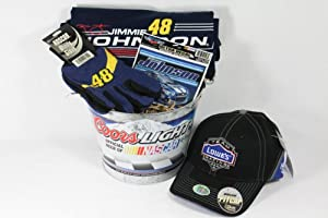 NASCAR Jimmie Johnson Gift Basket by The Sport Basket