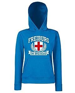 T-Shirtshock - Sweatshirt Hoodie Frauen TSTEM0268 freiburg im breisgau tshirt