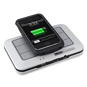 Lutall Wireless Battery Charger Lutall Portable Iphone 3 3g Wireless Battery Charger Charging Pack Station Power Mat Leather Case Holder Easy Charging