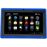 "7"" inch Touch Screen Allwinner A13 1.0GHz CPU  Android 4.0 Tablet PC 4GB HDD 512MB WiFi (Blue)"