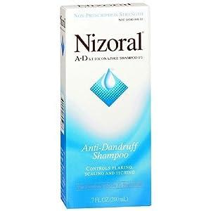 Nizoral A-D Anti-Dandruff Shampoo 7 Fl Oz, 200 ml