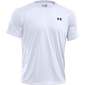 Under Armour Herren Fitness T-shirt und Tank, Wht, MD, 1228539