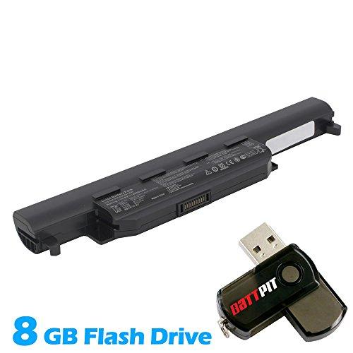 BattPit Notebook Akku für Asus F75VD-TY067 (4400mah / 49wh) bei kostenlosem 8GB Battpit USB-Stick