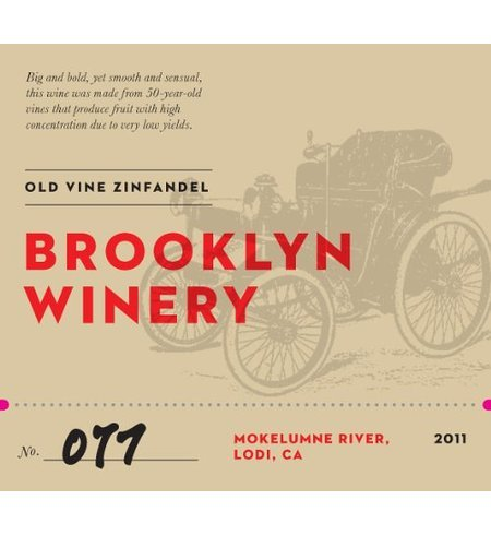 2011 Brooklyn Winery Old Vine Zinfandel 750 Ml