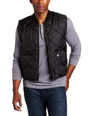 Key Apparel Men's Quilted Cooler Vest, Black, Medium-Regular