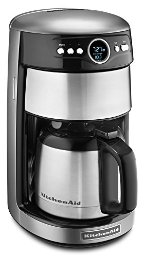Kitchenaid Coffee Maker Made In Usa : KitchenAid KCM1203CU 12-Cup Thermal Carafe Coffee Maker - Contour Silver USA Shipment 11street ...