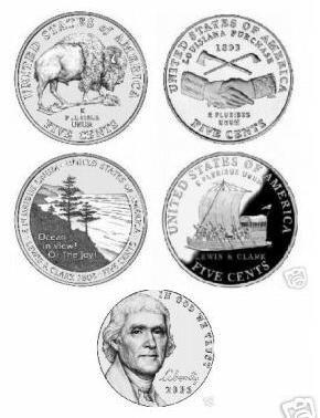 The Westward Journey Nickel Series 2004 Through 2006 - 1