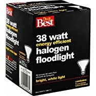 38W PAR 38 Halogen Floodlight Light Bulb-38W PAR38 HAL FLOOD BULB