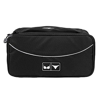 ECOSUSI Portable Travel Case Underwear Bra Drawer Closet Organizers Storage Bag