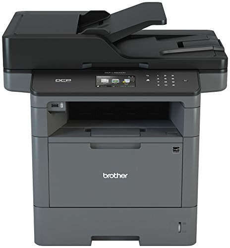 Brother DCP-L5600DN Business Laser Multi-Function Copier with Duplex Printing and Networking, Amazon Dash Replenishment Enabled