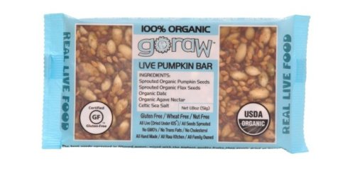 Freeland Go Raw Bars, Pumpkin, 1.8-Ounce Bar (Pack of 20)