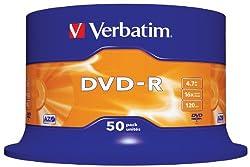 Verbatim 43548 16x DVD-R - Spindle 50 Pack