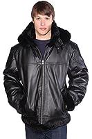 Wilda Men's Chris B-3 Leather Jacket
