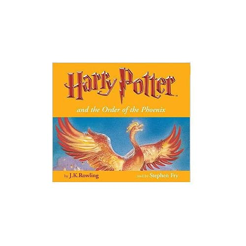 Harry Potter and the Order of the Phoenix read by Stephen Fry [UK