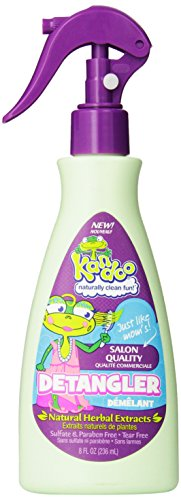 Kandoo Hair Detangler, Fresh Scent, 8 Fluid Ounce - 1