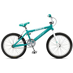 SE Bronco Race BMX Bike Aqua Blue 20