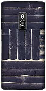 The Racoon Lean printed designer hard back mobile phone case cover for OnePlus 2. (BLACK AND)