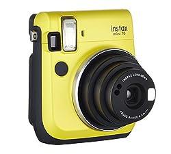 Fujifilm Instax Mini 70 Instax Camera Yellow