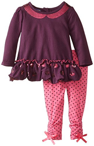Ok Kids! Baby-Girls Infant Heather Legging Set