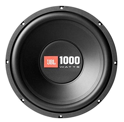 JBL-Car-CS12-Serie-12-Auto-Hifi-1000-Watt-Single-Voice-Coil-Bass-Subwoofer-mit-Einzelner-Schwingspule-und-Polypropylan-Tieftonmembran-Schwarz