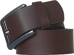 Sondagar Arts Men's Belt (SAB87_Brown_44)
